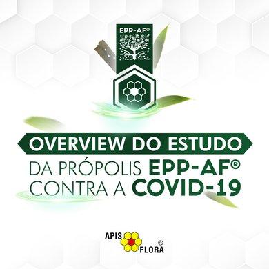ESTUDO: PRÓPOLIS EPP-AF® PODE AJUDAR PACIENTES COM COVID-19