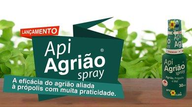 Agora, você encontra todos os benefícios do ApiAgrião® em embalagem spray.